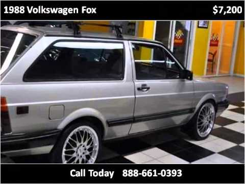 1988 volkswagen fox used cars pompano beach fl youtube. Black Bedroom Furniture Sets. Home Design Ideas