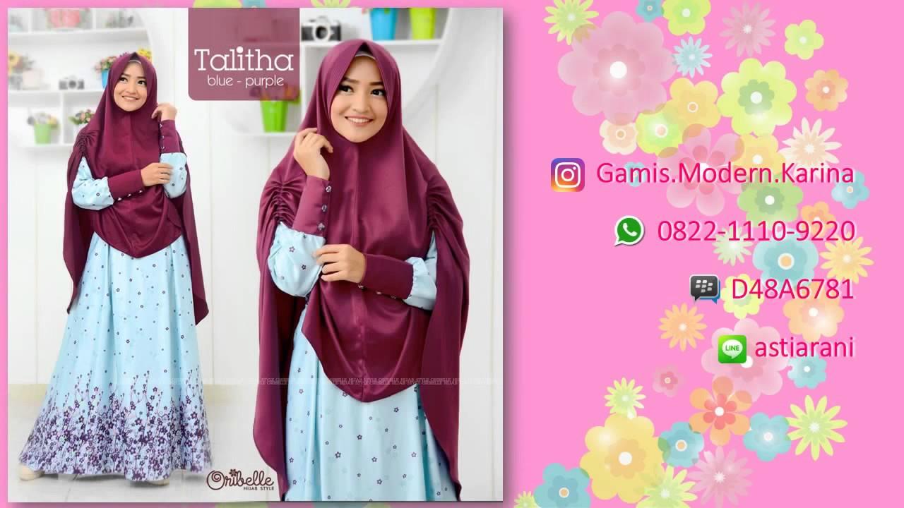 0822 1110 9220 Jual Baju Gamis Modern Anak Muda Di Yogyakarta