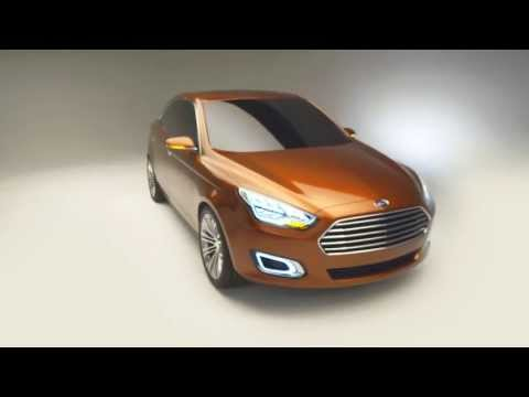 Ford Highlights A New Escort Concept at Shanghai Auto Show