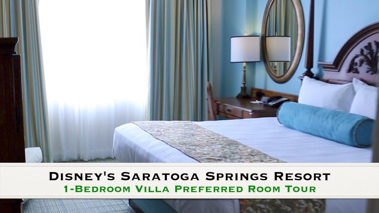 Disney S Saratoga Springs 1 Bedroom Villa Preferred Full