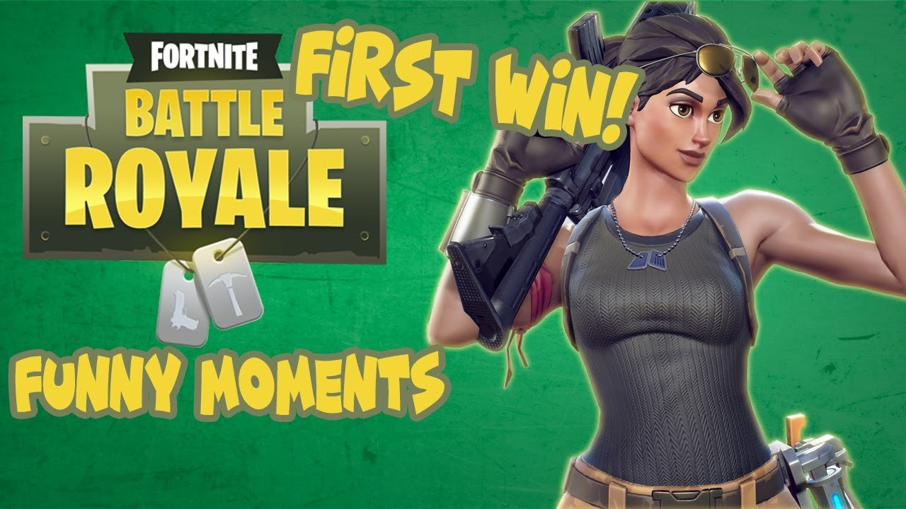 First Fortnite Win