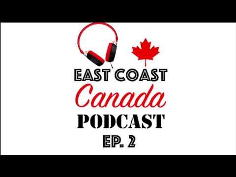 East Coast Canada Podcast - Ep. 2 Canadian POUTINE - New Brunswick Drive-thru Province?