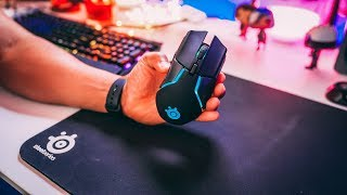 Steelseries Rival 650 Review! Best Gaming Ergonomic Wireless Mouse 2018?