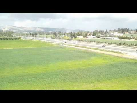 The new Jezreel Valley railway (Israel) - A description of the journey from Haifa to Beit She'an