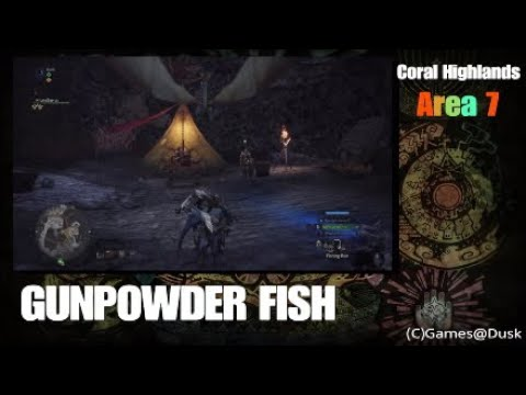 Monster Hunter: World - Gunpowder Fish Guide