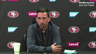 San Francisco 49ers Coach Kyle Shanahan and GM John Lynch updates on George Kittle