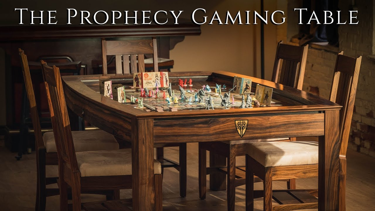 The Prophecy Gaming Table - Wyrmwood