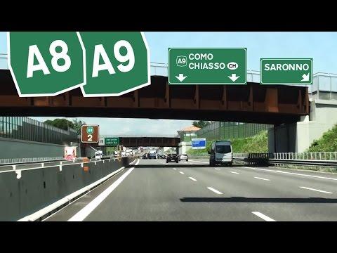 IT / A8 A9 Milano - Fiera - Lainate - Como sud / Autostrada dei Laghi