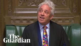 Tearful John Bercow reveals he will step down as Speaker by 31 October