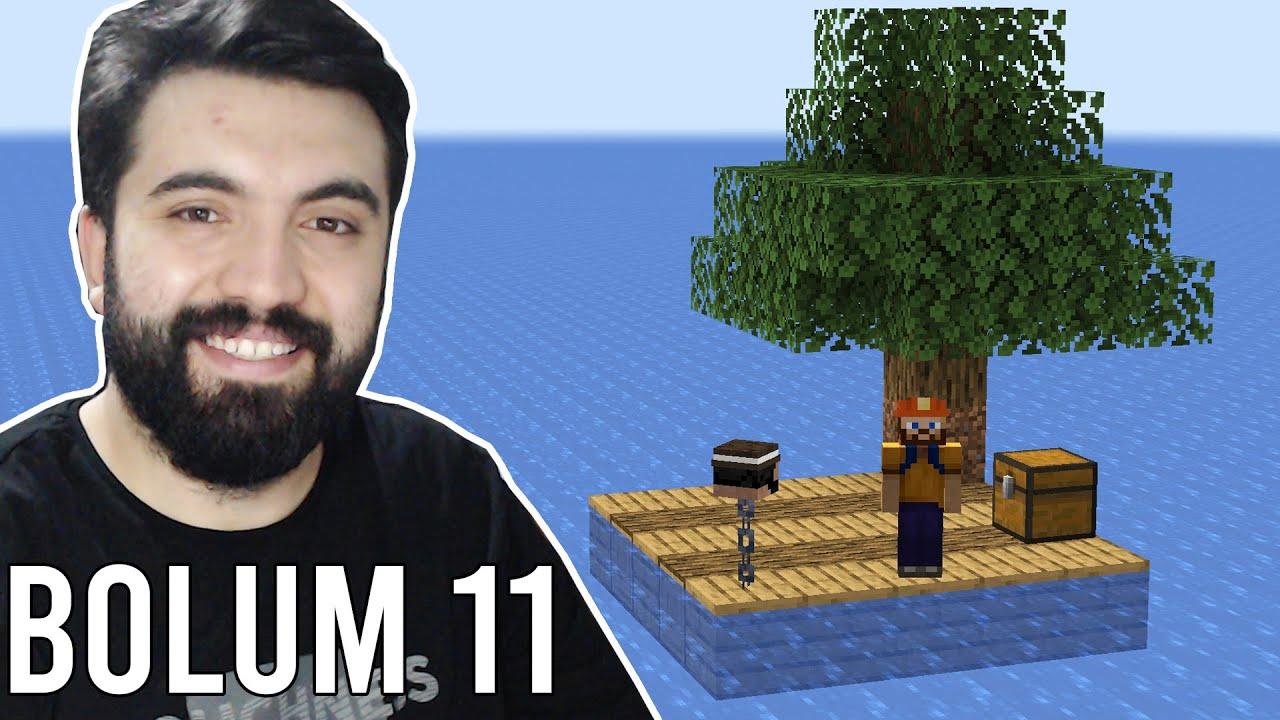 ADŞ İLE SAL SURVIVAL (Minecraft Raft Survival) #11