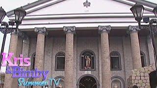 Kris & Bimby visit San Bartolome de Malabon Church