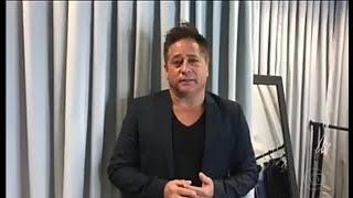 Leonardo fala sobre a morte de Gugu Liberato