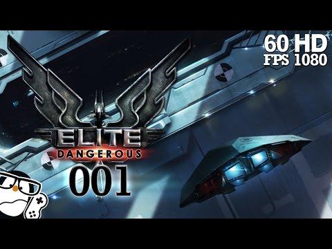 Elite Dangerous #001 - Kein Platz im unendlichen Raum [German] | Let's Play Elite Dangerous