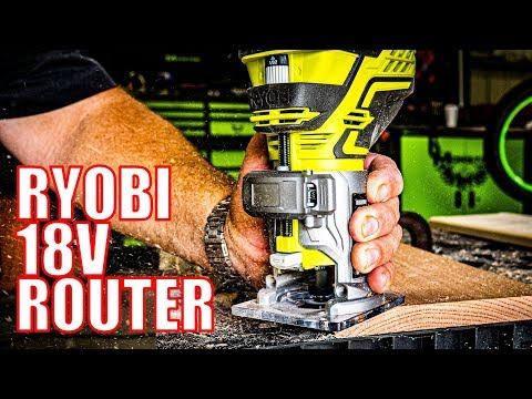 Ryobi P601 Trim Router 18V One+ Review