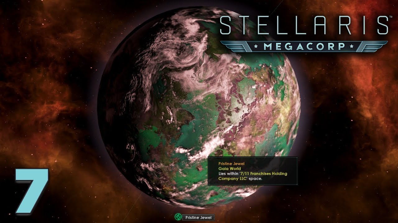 A World to Fight For? | STELLARIS: MEGACORP DLC and 2 2