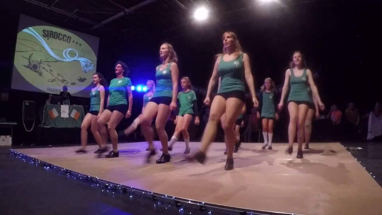 Optreden Jeugdclub Sirocco te Haren