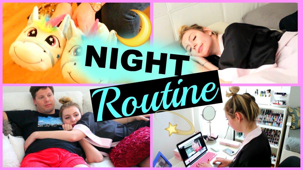 NIGHT ROUTINE - ESTATE 2017!!!!!!!!🌙 - YouTube