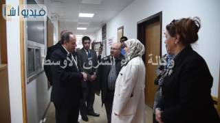بالفيديو:محمد سلطان محافظ الإسكندرية يقوم بجولة تفقدية مفاجئة بمستشفى جمال حمادة بغيط العنب