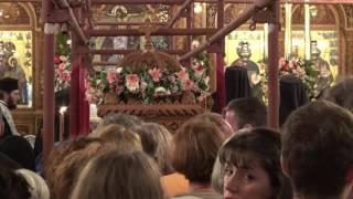 Aνακομιδή Ιερού Λειψάνου Αγ. Νεκταρίου 2016