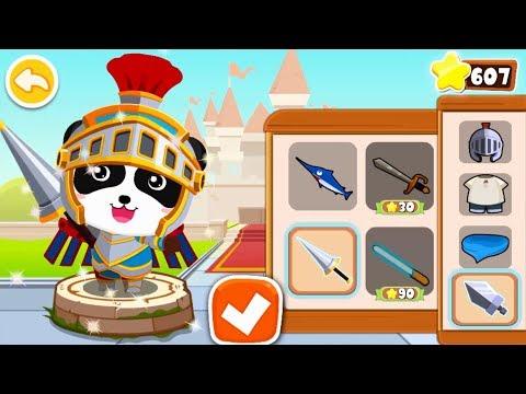 【New】Super Panda Knight Rescues Fire Phoenix | Panda's Jewel Hunt | Logic Game for Kids|BabyBus Game
