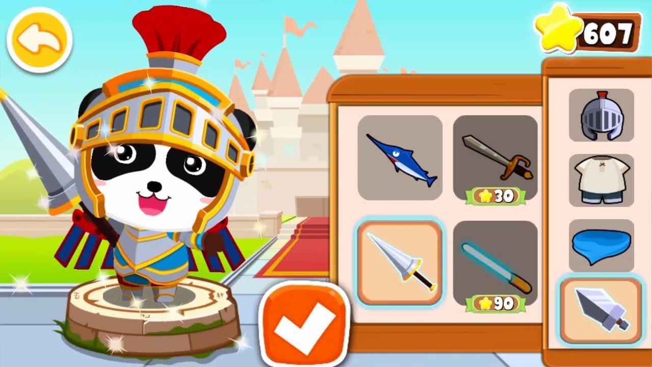 【New】Super Panda Knight's Mission | Panda's Jewel Hunt | Logic Game for Kids|BabyBus Game