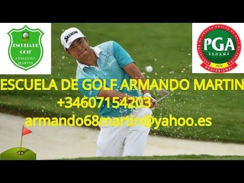 Clases de golf-que podemos aprender del swing de Hideki Matsuyama