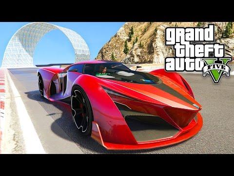 GTA 5 - CRAZY STUNT RACES!! (GTA 5 Online)