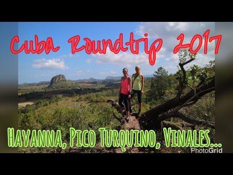 Cuba Roundtrip 2017 - Havana, Pico Turquino, Vinales, Cayo Levisa, Cayo Santa Maria