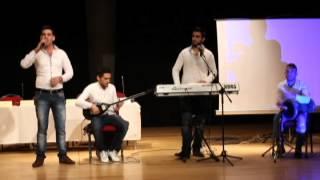 حفلة خيرية للسوريين في ازمير hejar hasan izmir soryalari kunser2015