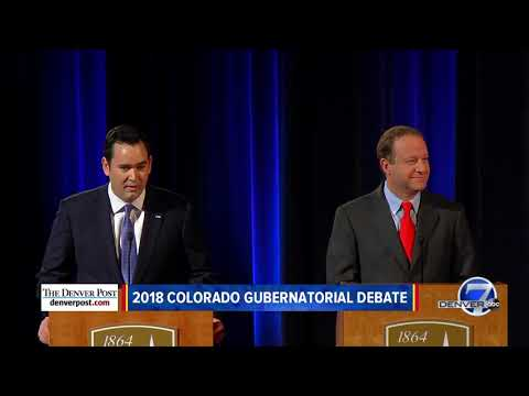 Jared Polis and Walker Stapleton square off in final Colorado governor's debate hosted by Denver7