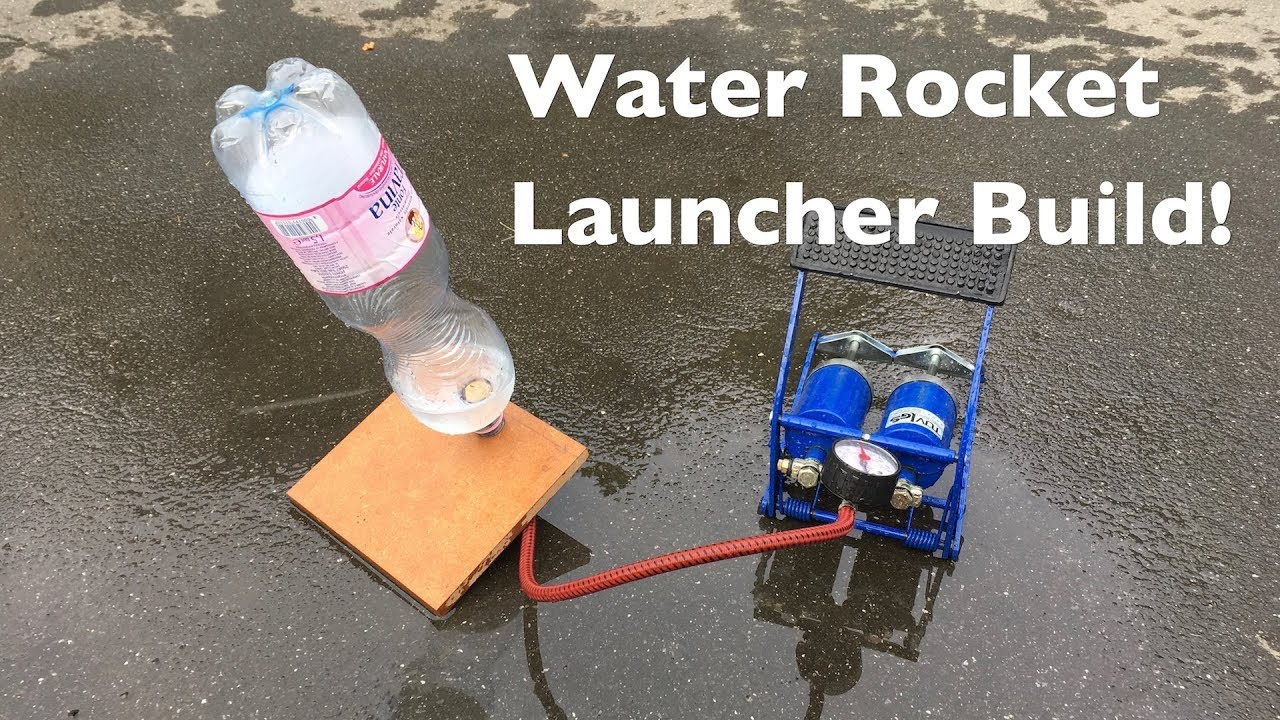 How To Build A Simple Water Rocket Launcher