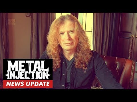 Megadeth's Dave Mustaine Diagnosed With Throat Cancer | Metal Injection