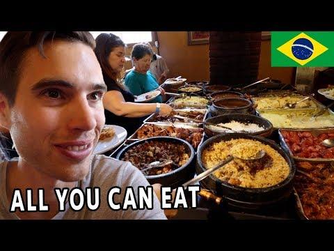 We Tried Traditional BRAZILIAN FOOD in Minas Gerais