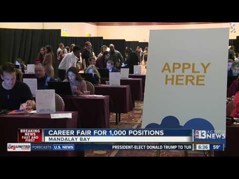 MGM holds seasonal job fair