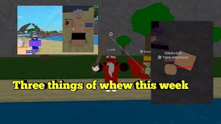 Three Things Sick This Week-One Piece Legendary-Roblox