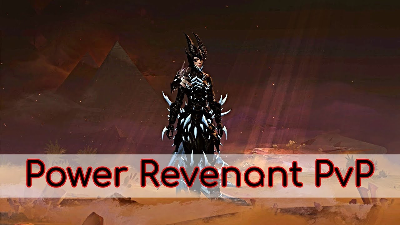 Guild Wars 2 - Power Revenant PvP #LagWars2