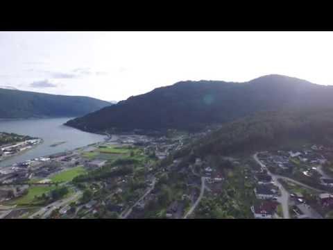 DJI Inspire 1, random flight cam over Stryn in norway