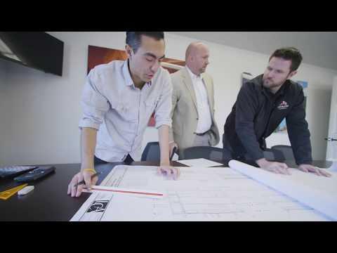 Spokane Roofing Company, Office Walkthrough