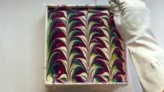 5 color swirl soapmaking & cutting