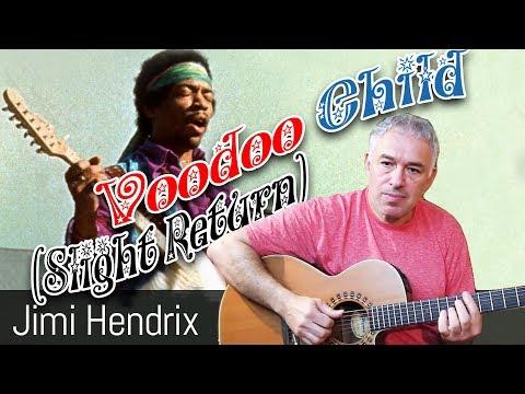 Voodoo Child, Fingerstyle Acoustic Guitar, Jake Reichbart