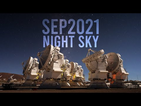 What's in the Night Sky September 2021 #WITNS | Meteors | Milky Way Core