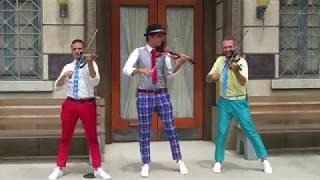 ヴァイオリン・トリオ2018はセクシーな男性トリオが間近で奏でる超絶技...