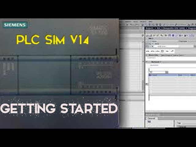 TIA PORTAL V14 - PLC SIM - Getting Started ( 2019 ) - YouTube