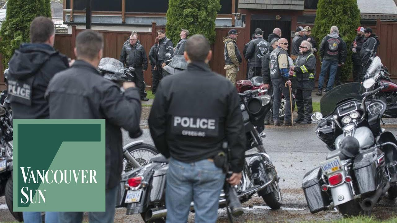 Hells Angels hold annual 'Screwy ride' to honour slain East End biker |  Vancouver Sun
