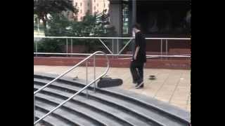John Murphy Switch FS Flip London Life, Bristol Raw Footage Throwback (2008)