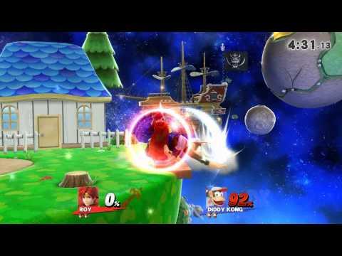 Roy (itsAndre) vs Diddy Kong (Riley B)