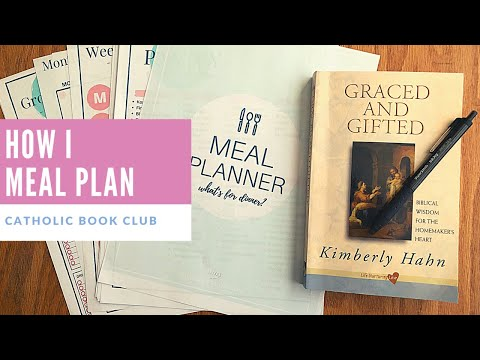 Meal Planning | Homemaking | Graced and Gifted Ch 4