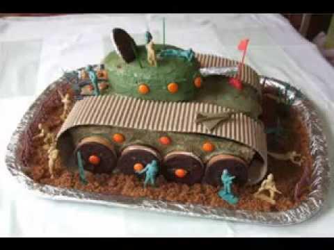 Kreative Armee Kuchen design Deko-Ideen . - YouTube