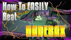 Borderlands 2- How To EASILY Beat Haderax The Invincible