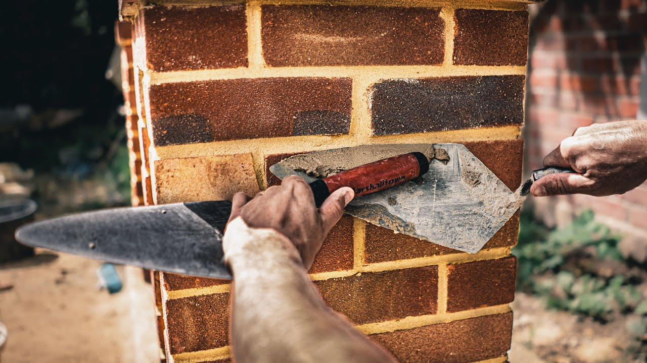 BRICKLAYING | How to POINT BRICKWORK FAST! Proven method